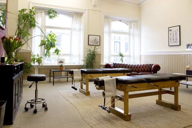 Chiropractor Carrickfergus, Treatment Room