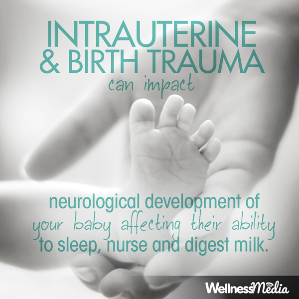 intrauterine birth trauma